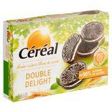 Céréal Moins de Sucres Double Delight 4 x 4 Biscuits 176 g