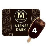 Magnum Ola Multipack Ijs Intens Dark Chocolate 4 x 100 ml