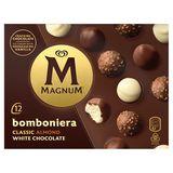 Magnum Ola Ijs Bomboniera Multipack Classic - Almond - White 12 x 12 ml