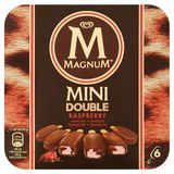 Magnum Ola Ijs Mulitpack Mini Double Raspberry 6 x 60 ml