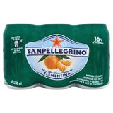 SANPELLEGRINO® Clementina Pétillante Fruitée Canette 6 x 0.33 L