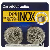 Carrefour Boules Inox 2 x 18 g