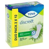 Tena Discreet Normal Duo Pack 2 x 12 Verbanden