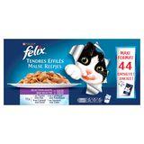 FELIX Alimentation Chat Tendres Effiles Sélection Mixte 44 x 100 g