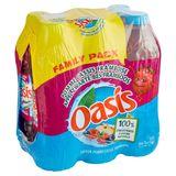 Oasis Appel Zwarte Bes Framboos 6 x 1 L