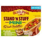 Old El Paso Stand'n Stuff Mini 12 Soft Tortillas 145 g