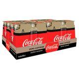Coca-Cola Zero Sugar Zero Caffeine 4 x (6 x 250 ml)