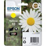 Epson - Inktcartridge T1804 - Geel