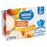Nestlé Yogolino Mangue Abricot  6x60g