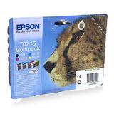 Epson - Inktcartridge T0715 Multipack - BL/C/M/Y