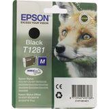 Epson - Inktcartridge T1281 - Zwart