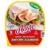 Aoste Kipfilet aan't Spit 6 Sneden 120 g