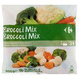 Carrefour Broccoli Mix Wortelen, Broccoli & Bloemkool 600 g