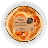 Carrefour Traiteur Gourmet Quiche Tomates & Mozzarella 300 g