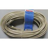 Hama - Kabel netwerk CAT5e 15m (30621)