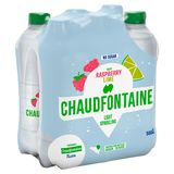 Chaudfontaine Raspberry Lime Sparkling No Sugar Pet 500Ml X 6