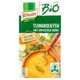 Knorr Bio Tetra Soupe Légumes du Jardin avec une Pointe de Crème 1 L