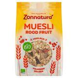 Zonnatura Bio Muesli Rood Fruit 375 g