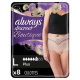 Always Discreet Boutique Broekjes Urineverlies L Perzik Kleur x8