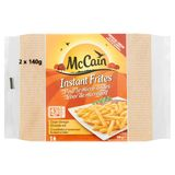 McCain Micro-Ondes Instant Frites 2 x 140 g
