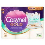 Cosynel Gold Sensitive 3 Lagen Toiletpapier 6 Rollen