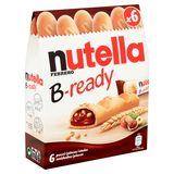 Nutella B-Ready 6 Pièces 132 g