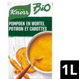 Knorr Bio Tetra Soep Pompoen en Wortel 1 L