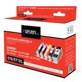 Seven Life - Inktcartridge Canon - 570/571XL - Multipack