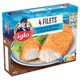 Captain Iglo Colin d'Alaska Pané 4 Pièces 400 g