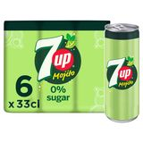 7UP Free Moijto Limonade 6x33 cl