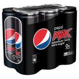 Pepsi MAX Cola 6x33 cl
