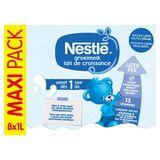Nestlé Groeimelk 1+ vanaf 1 Jaar Maxi Pack 8 x 1 L