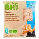 Carrefour Bio Gekookte Gepelde Garnaalstaarten 200 g