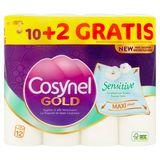 Cosynel Gold Sensitive 3 Lagen Toiletpapier 10+2 Rollen