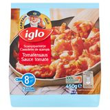 Iglo Scampipannetje met Tomatensaus 450 g