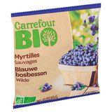 Carrefour Bio Myrtilles Sauvages 450 g