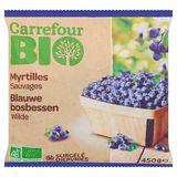 Carrefour Bio Blauwe Bosbessen Wilde 450 g