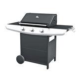 Carrefour Hyba Barbecue Gaz 3 Feux HG300 Noir