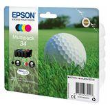 Epson - Inktcartridge T3466 - BL/C/M/Y
