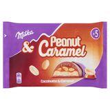 Milka Peanut & Caramel 5 x 37 g