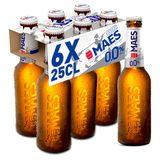 Maes Bière blonde Pils Sans alcool Bouteille 6x25cl