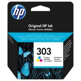 HP - Inktcartridge 303 - Drie-kleuren C/M/Y