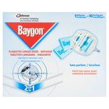 Baygon Tabletten Langdurig - Verdamper 2 in 1 10 x 0.635 g