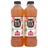 May Tea Geïnfuseerde Ijsthee Witte Thee met Aroma van Framboos 6 x 1 L