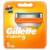Gillette Fusion5 Scheermesjes Voor Mannen, 5 Navulmesjes