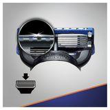 Gillette Fusion5 ProGlide Scheermesjes, 4 Navulmesjes