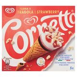 Cornetto Ola Multipack Ijs Aardbei 5 x 120 ml