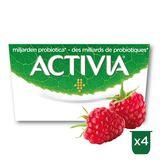 Activia Yoghurt Framboos met Probiotica 4 x 125 g