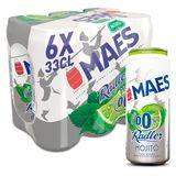 Maes Bière blonde Pils Radler Mojito Sans alcool Canette 6x33cl
