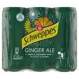 Schweppes Ginger Ale 6 x 33 cl